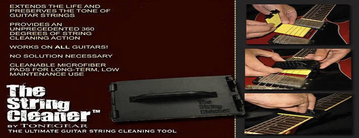 Tonegear string cleaners are now available exclusively at Instruments Garage Stores